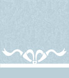 Wedding or celebration background with bow and lac Stock Photo
