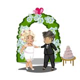 Wedding Celebration, Getting Married Royalty Free Stock Image