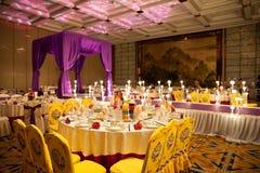 Wedding celebration hotel interior stock photography