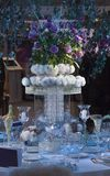 Wedding Centerpiece Table Royalty Free Stock Photo