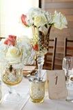 Wedding Centerpieces Royalty Free Stock Photo