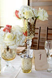 Wedding Centerpieces Royalty Free Stock Photo