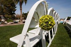 Wedding Ceremony Chairs Stock Photography