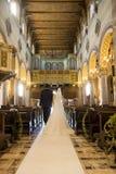 Wedding ceremony of church Royalty Free Stock Photos