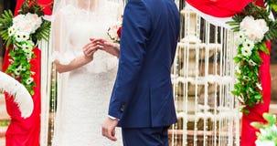 Wedding Ceremony Royalty Free Stock Photos