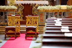 Wedding church Stock Image