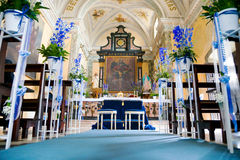 Wedding church Royalty Free Stock Photos