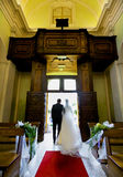 Wedding in church Royalty Free Stock Images