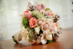 Wedding ceremony flowers Stock Photography