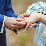 Wedding ceremony. Stock Photos