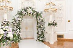 Wedding ceremony hall Stock Photo