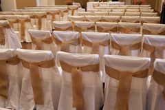 Wedding ceremony indoors Royalty Free Stock Image
