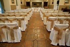 Wedding ceremony indoors Stock Photo