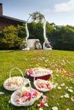 Wedding ceremony outdoor Stock Images