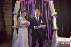 Wedding ceremony Royalty Free Stock Photography