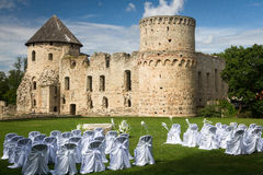 Wedding ceremony places Royalty Free Stock Image