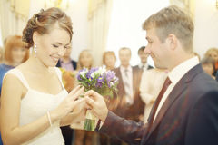Wedding ceremony Stock Photography