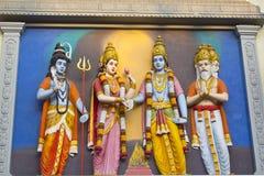 Wedding ceremony of Shri Krishna and Rukmini Stock Photos