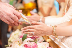 Wedding ceremony in Thailand Royalty Free Stock Photos