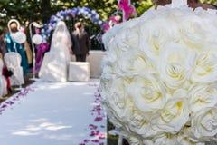 Wedding Cerimony Scene Royalty Free Stock Photo