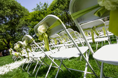 Wedding chair Royalty Free Stock Photo