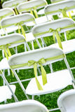 Wedding chair Stock Images