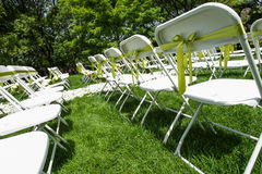 Wedding chair Royalty Free Stock Photography