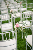 Wedding chair Royalty Free Stock Images