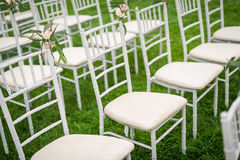 Wedding chair Royalty Free Stock Image