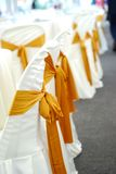 Wedding Chair Cover Royalty Free Stock Photography