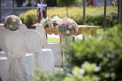 Wedding Chair Covers Royalty Free Stock Photos