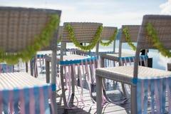 Wedding chair Stock Photography