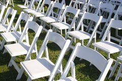 Wedding Chairs 1 Stock Photography