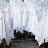 Wedding chairs Stock Photos