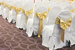 Wedding chairs Royalty Free Stock Photography