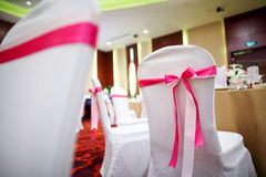 Wedding chairs Stock Image