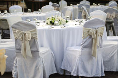 Wedding Chairs Royalty Free Stock Image
