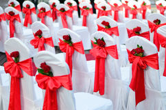 Wedding chairs. Stock Photography