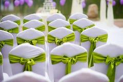 Wedding chairs Stock Photos