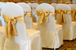 Wedding chairs. Royalty Free Stock Photography