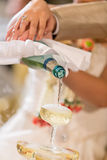 Wedding champagne Royalty Free Stock Images