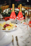 Wedding champagne Royalty Free Stock Photography