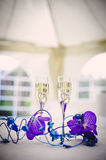 Wedding champaign Royalty Free Stock Images