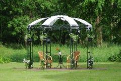Wedding chapel on field Royalty Free Stock Photography