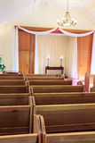 Wedding chapel interior Royalty Free Stock Photography