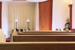 Wedding chapel interior Royalty Free Stock Images