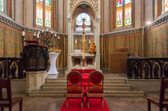 Free Wedding Chapel Interior Royalty Free Stock Images - 99209079