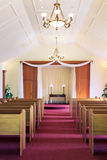 Wedding chapel interior - vertical Stock Images