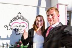 Wedding chapel in Las Vegas Stock Images