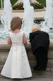 Wedding children 2 Stock Image